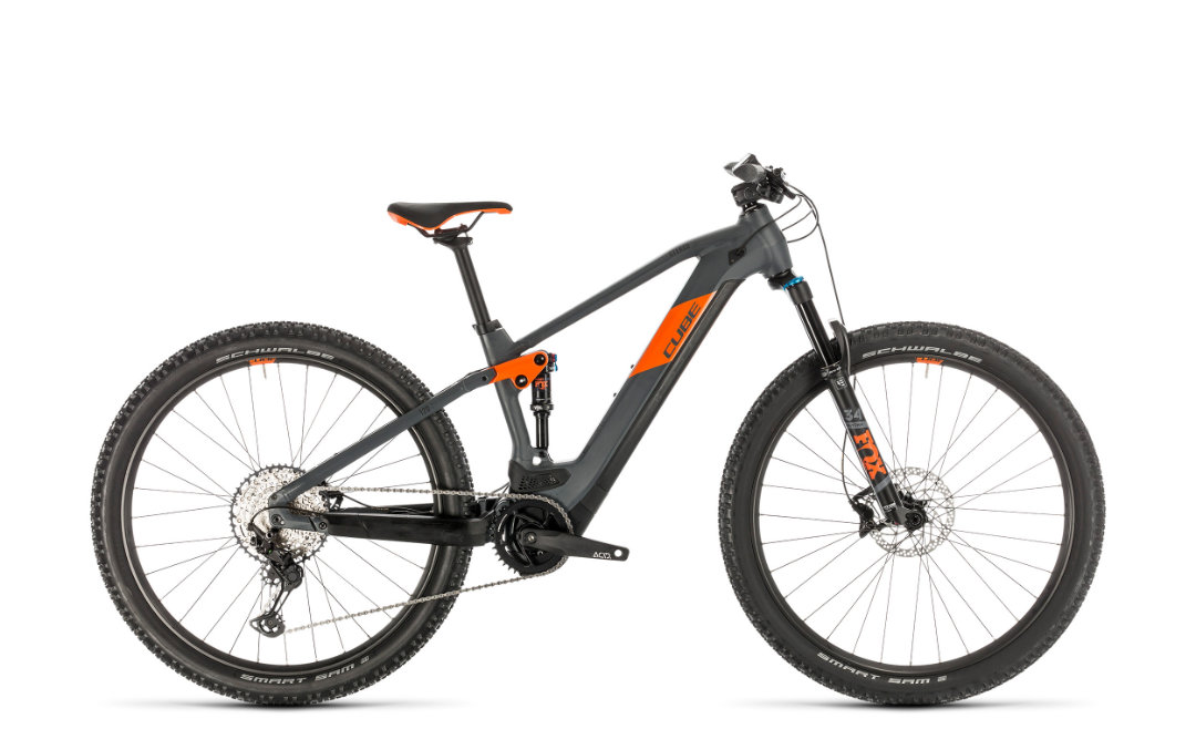 Cube Stereo Hybrid 120 Race 625 29 grey´n´orange 2020